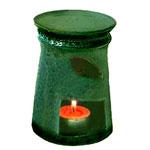 grüne duftlampe