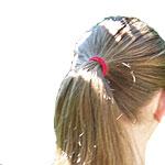 Die Olivenmaske für das Haar der Effekt laminirowanija