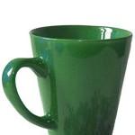grüne Teetasse
