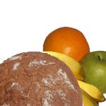 Brot und Obst