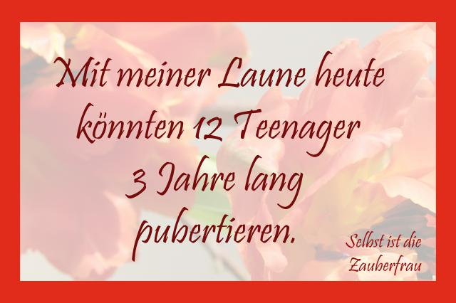 Laune-Teenager
